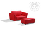 The Little Devil's Red Sofa Set