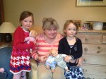 ania and the girls with their dollies