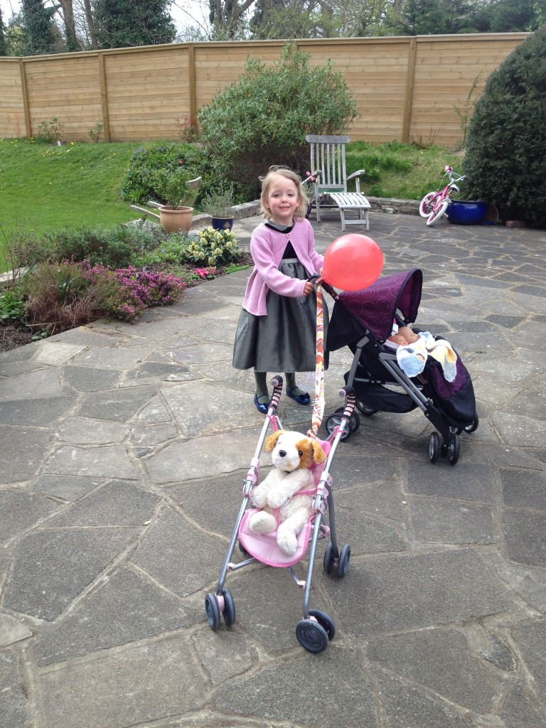 tilly and her prams